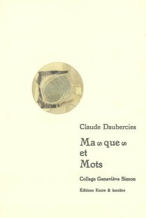 Masques et mots - ClaudeDaubercies