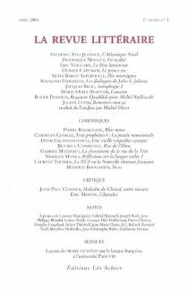 Revue littéraire (La), n° 1 -