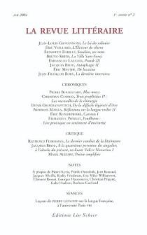 Revue littéraire (La), n° 2 -