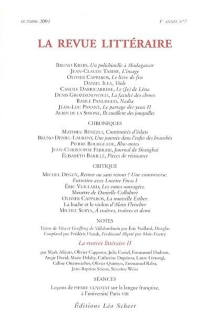 Revue littéraire (La), n° 7 (2004) -