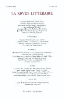 Revue littéraire (La), n° 8 -