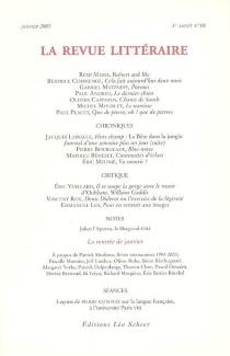 Revue littéraire (La), n° 10 -