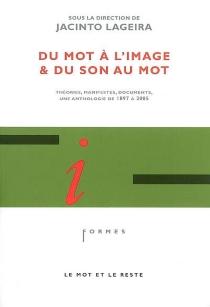 Du mot à l'image et du son au mot : théories, manifestes, documents : une anthologie de 1897 à 2005 -