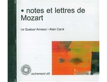 Notes et lettres de Mozart - Wolfgang AmadeusMozart