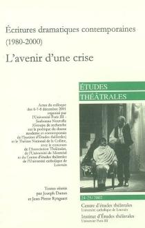 Etudes théâtrales, n° 24-25 -