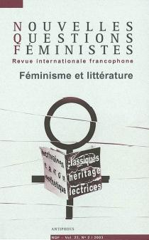 Nouvelles questions féministes, n° 2 (2003) -