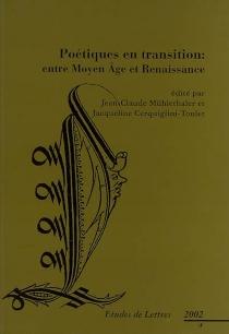 Etudes de lettres, n° 4 (2002) -