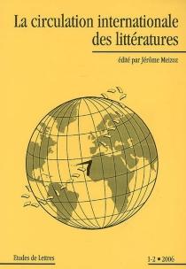 Etudes de lettres, n° 1-2 (2006) -