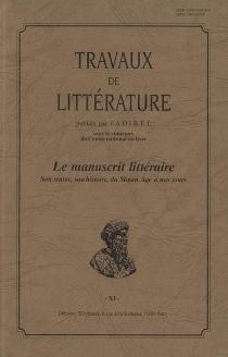 Travaux de littérature, n° 11 -
