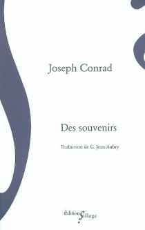 Des souvenirs - JosephConrad