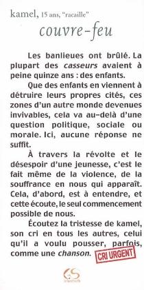 Couvre-feu - Kamel