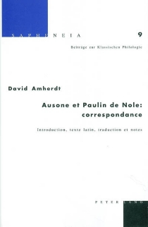 Ausone et Paulin de Nole : correspondance - Ausone