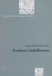 Ecritures babéliennes -