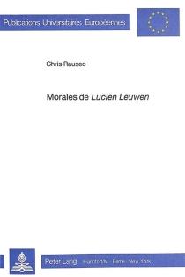 Morales de Lucien Leuwen - ChrisRauseo