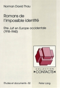 Etre juif en Europe occidentale (1918-1940) - Norman David Thau