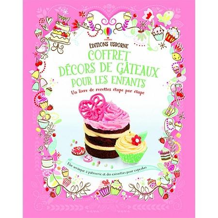 Coffret d cors de g teaux pour les enfants un livre de for Livre de cuisine pour enfants