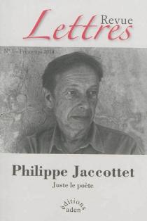Revue Lettres, n° 1 -