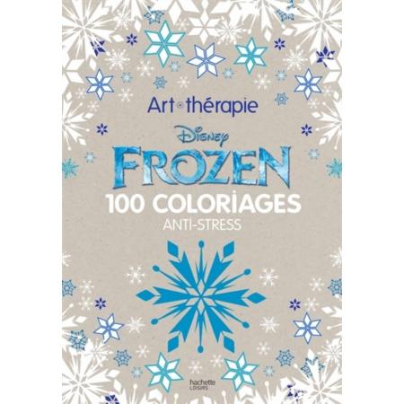 Frozen 100 coloriages anti stress - Coloriage anti stress disney ...