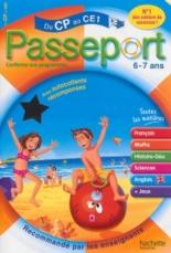 Passeport du CP au CE1, 6-7 ans : avec autocollants récompenses - PhilippeBourgouint, XavierKnowles, NicolePresse