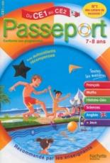 Passeport du CE1 au CE2, 7-8 ans : avec autocollants récompenses - CatherineBessières, XavierKnowles