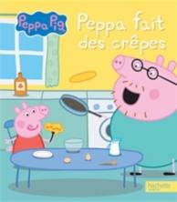 Peppa fait des crêpes