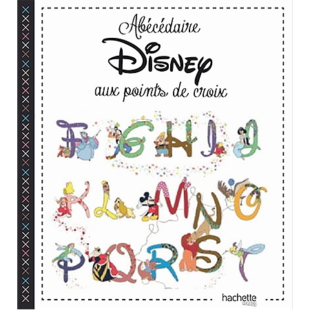 Ab c daire disney au point de croix broderie et point de - Abecedaire point de croix grille gratuite ...