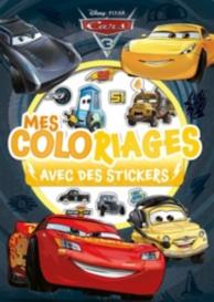 Cars 3 : mes coloriages avec des stickers