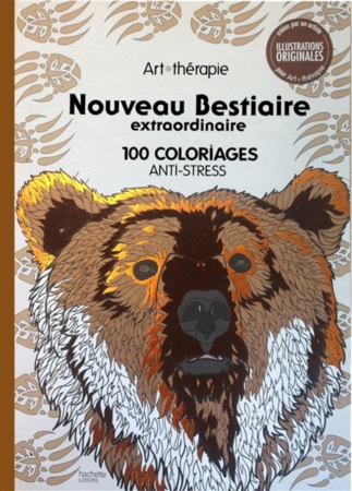coloriage anti stress ours