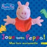 Joue avec Peppa ! : mon livre marionnette -