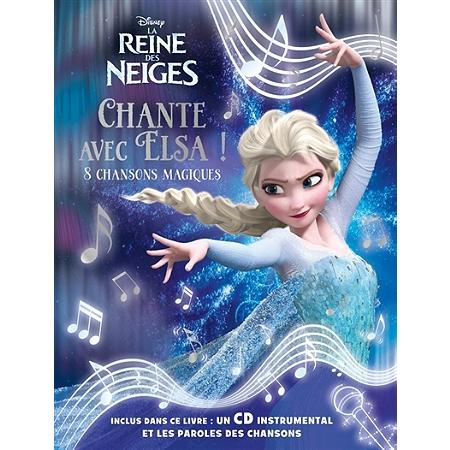 La reine des neiges chante avec elsa 8 chansons magiques albums 3 6 ans espace - Telecharger chanson reine des neiges ...
