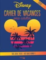 cahier de vacances disney pour adultes