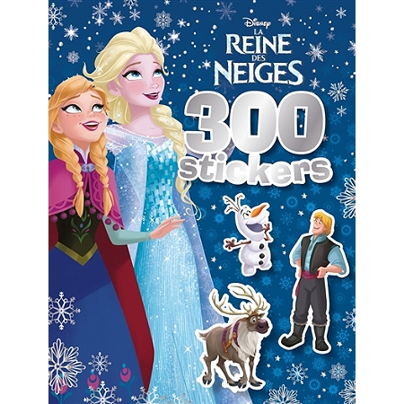 la reine des neiges 300 stickers livres jeux espace. Black Bedroom Furniture Sets. Home Design Ideas