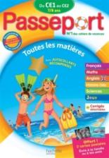 Passeport du CE1 au CE2, 7-8 ans : avec autocollants récompenses : nouveaux programmes - CatherineBessières, XavierKnowles