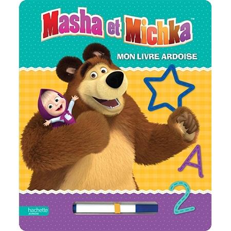 Masha et michka mon livre ardoise livres jeux espace culturel e leclerc - Paillis ardoise leclerc ...