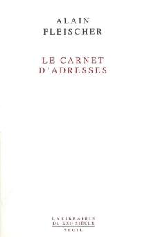 Le carnet d'adresses - AlainFleischer