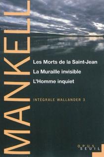 Intégrale Wallander | Volume 3 - HenningMankell