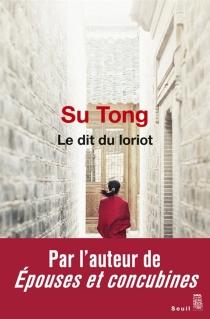 Le dit du loriot - TongSu