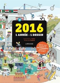 2016 : 1 année, 1 dessin - Cosinus