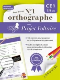 Pour devenir n° 1 en orthographe avec Projet Voltaire : CE1, 7-8 ans