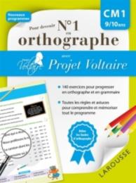 Pour devenir n° 1 en orthographe avec Projet Voltaire : CM1, 9-10 ans