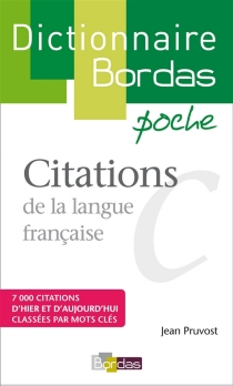 Citations de la langue française -