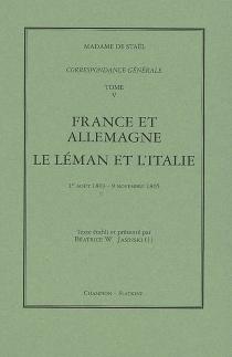 Correspondance générale - Germaine deStaël-Holstein