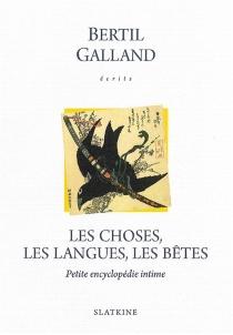 Ecrits - BertilGalland