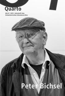 Quarto, revue des archives littéraires suisses, n° 40-41 -