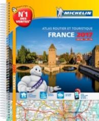 France 2017 : Strassen- und Reiseatlas| France 2017 : atlas routier et touristique| France 2017 : tourist and motoring atlas