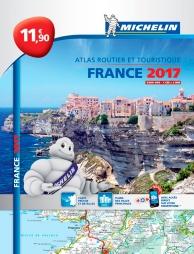 France 2017 : atlas routier et touristique : l'essentiel