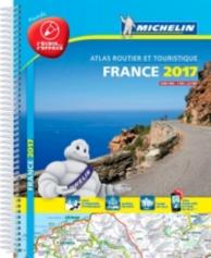 France 2017 : atlas routier et touristique : plastifié