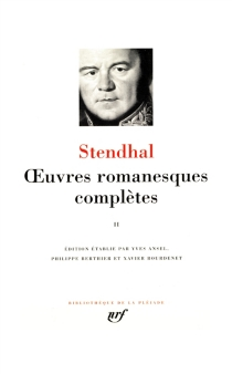 Oeuvres romanesques complètes | Volume 2 - Stendhal