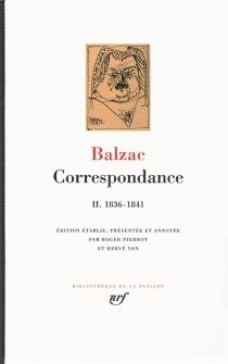 Correspondance - Honoré deBalzac