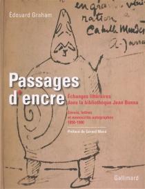 Passages d'encre : échanges littéraires dans la bibliothèque Jean Bonna : envois, lettres et manuscrits autographes, 1850-1900 - ÉdouardGraham